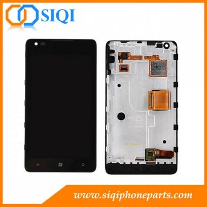 pantalla LCD de Nokia 900, proveedor para Nokia Lumia 900 LCD, Nokia Lumia 900 partes, piezas móviles de Nokia, Pantalla para Nokia Lumia 900