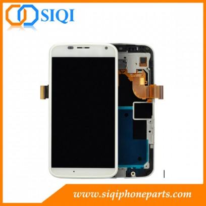 モトXディスプレイ,モトX LCDスクリーン,モトX用交換LCD,フレーム付きモトX LCD,モトX LCDデジタイザーアセンブリ