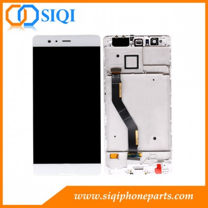 Huawei P9 plus LCD用, Huawei P9 plus用ディスプレイ, Huawei P9 plus用フレーム付きLCDアセンブリ, Huawei P9P画面, Huawei P9 plus画面