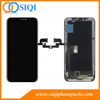 Replacement for iPhone X LCD, iPhone X screen, iPhone X LCD display, iPhone X LCD repair, iPhone X screen replacement