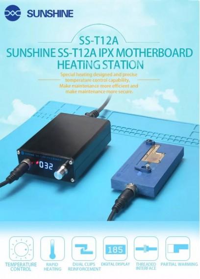 Outils de réparation iPhone X, station de chauffage de couche de carte mère iPhone X, préchauffeur de carte de circuit imprimé pour iPhone X, réparation de circuit imprimé de carte iPhone X, station d