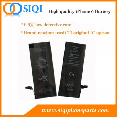 iPhone 6 battery, iPhone 6 battery replacement, iPhone 6 battery repair, Battery iPhone 6 supplier, iPhone 6 Battery China factory