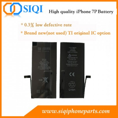 iPhone 7 plus battery, Battery iPhone 7 plus, iPhone 7P battery repair, iPhone 7P battery factory, iPhone 7 plus battery fix