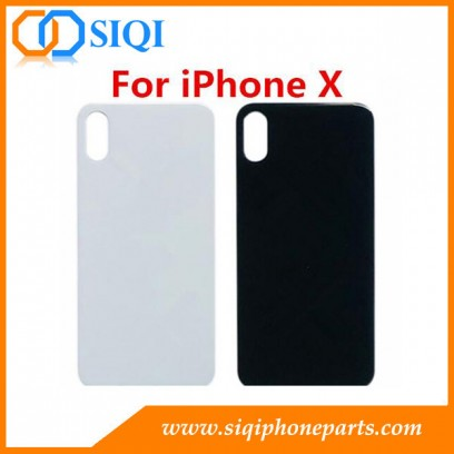 iPhone X back glass, iPhone X back cover, iPhone X battery cover, iPhone X back housing, iPhone X back glass with CE