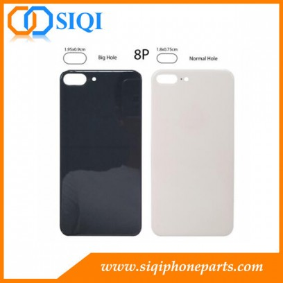 iPhone 8 plus back glass big hole، iPhone 8P back cover big hole، iPhone 8 plus غطاء البطارية، iPhone 8 plus glass back، iPhone 8P back glass China