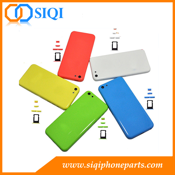 for iphone 5c back housing, back cover for iphone 5c, back housing for iphone 5c, rear housing for iphone 5c, for iphone 5c back cover
