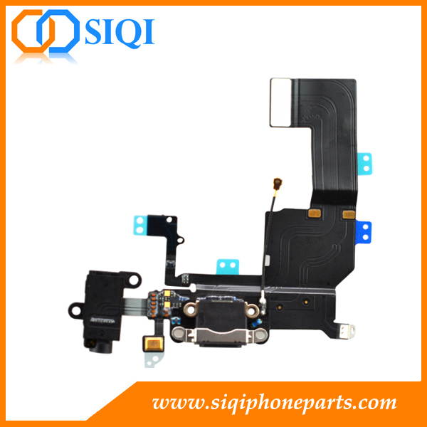port de recharge de remplacement pour iphone 5C, réparation pour iphone 5s port de charge, station d'accueil de recharge pour apple iphone 5C, câble de charge pour iphone, connecteur charing flex