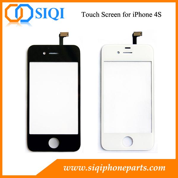 Écran tactile pour l'iphone 4S, remplacement de l'écran tactile, Réparation écran tactile pour l'iPhone 4S, convertisseur analogique-numérique pour iPhone 4S, numériseur à écran tactile