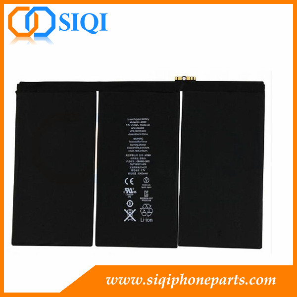 Battery replacement for iPad, iPad 4 battery repair, change for iPad 4 battery, battery for Apple ipad, iPad 4 battery wholesale