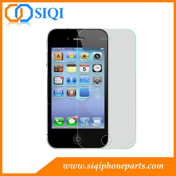 Protecteur d'écran anti-empreintes digitales, protecteur d'écran iPhone 5, protecteur d'écran en verre trempé, protecteur d'écran iPhone, protecteur d'écran Chine