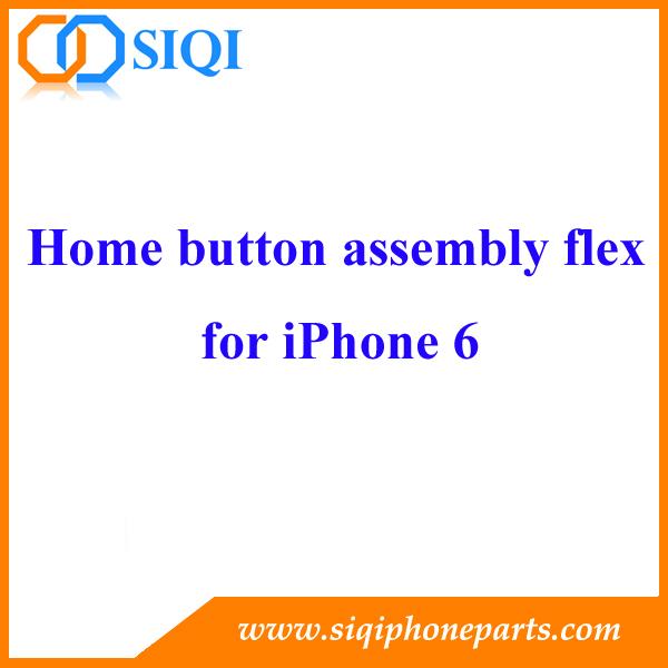 réparation pour iphone bouton home, remplacement du bouton home, assemblage du bouton home pour iphone 6, assemblage du bouton home flexible, assemblage du bouton home pour iphone