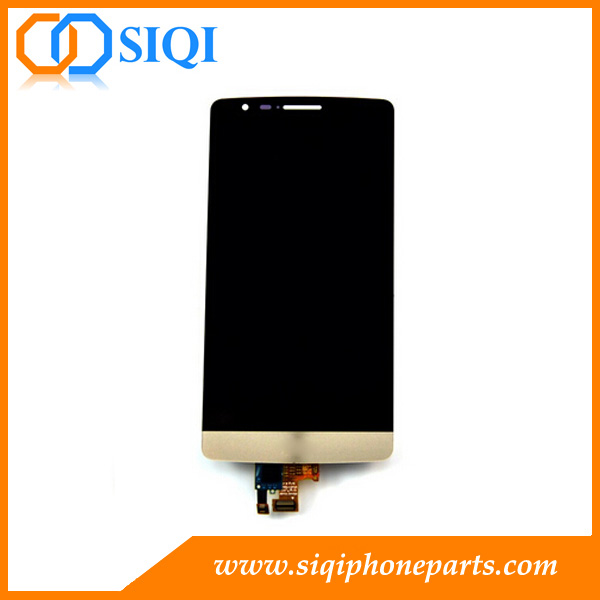 Gold LCD Digitizer Screen For LG G3 D850 From China, LCD for