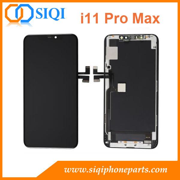 Ecran d'origine pour iPhone 11 pro max, OLED pour iPhone 11 pro max, Ecran d'origine pour iPhone 11 pro max, Réparation LCD en remplacement de l'iPhone 11 pro max, remplacement de l'écran pour iPhone 11 pro max